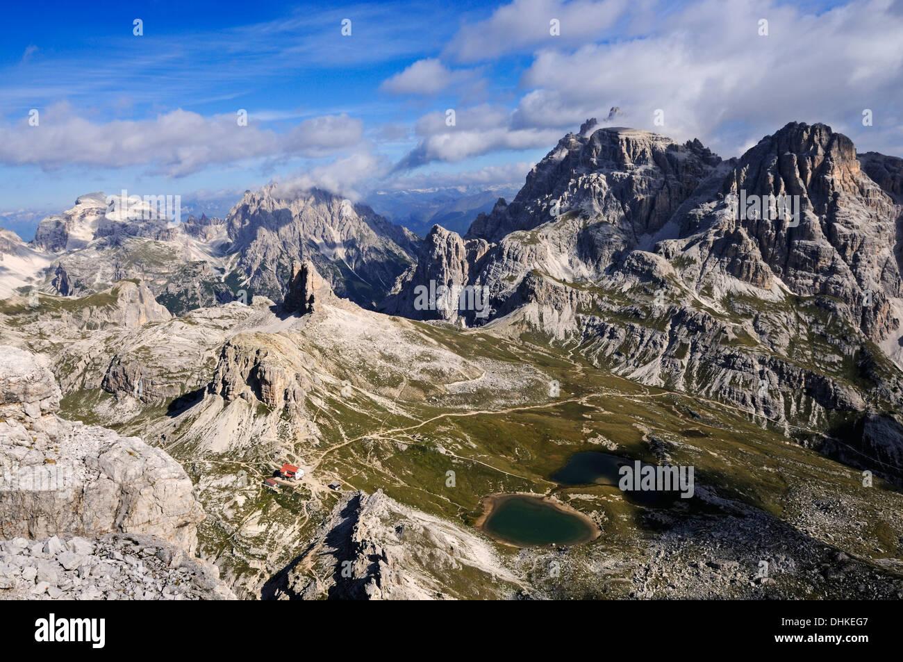 Klettersteig Drei Zinnen : Paternkofel klettersteig dreizinnen alphütte boedenseen