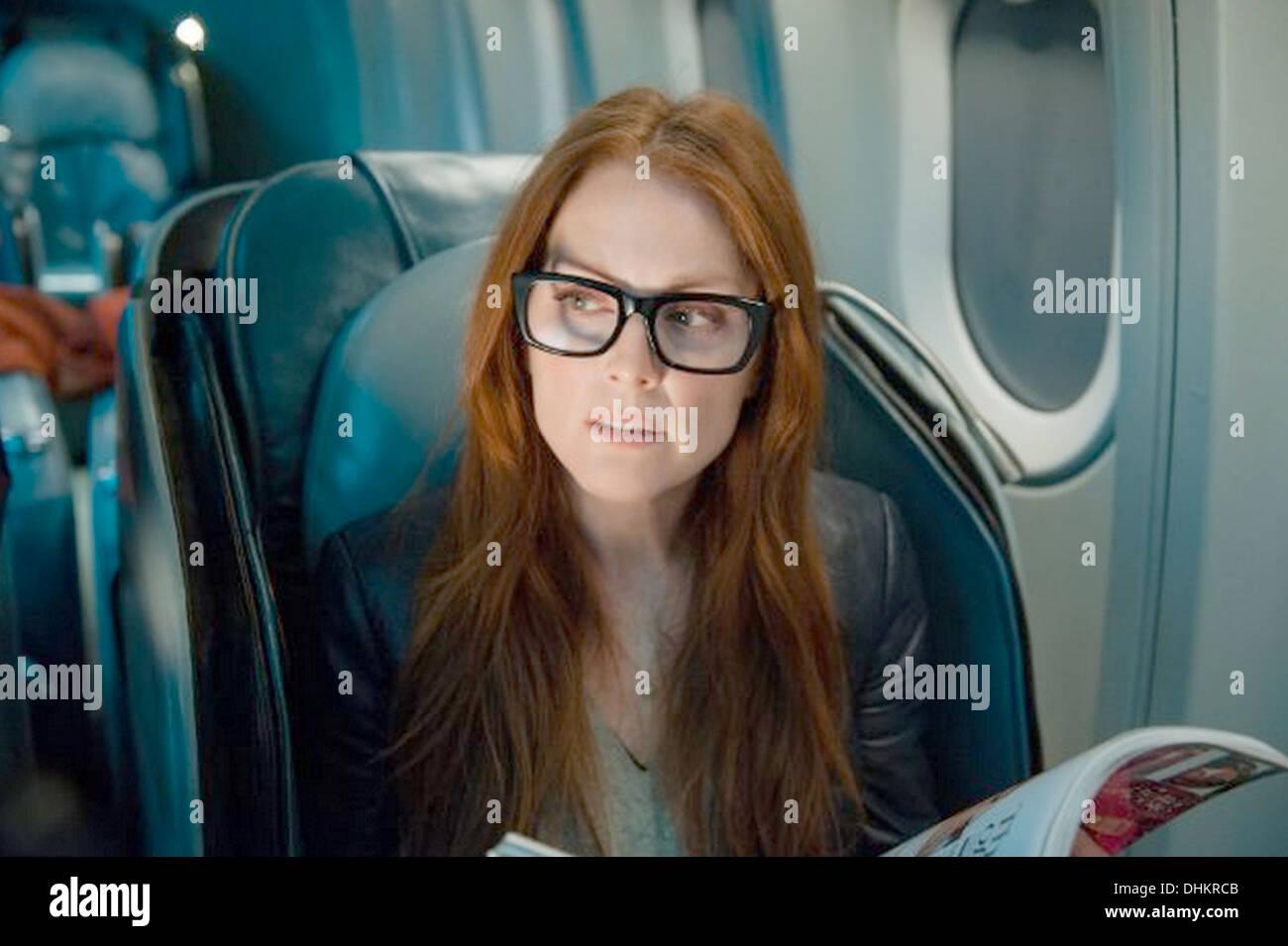 NON-STOP 2014 Universal Pictures Film mit Julianne Moore Stockbild