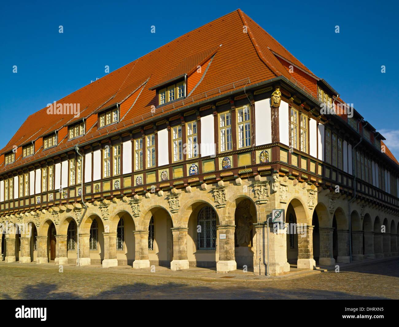 Priorat, Domplatz Quadrat, Halberstadt, Sachsen-Anhalt, Deutschland Stockbild