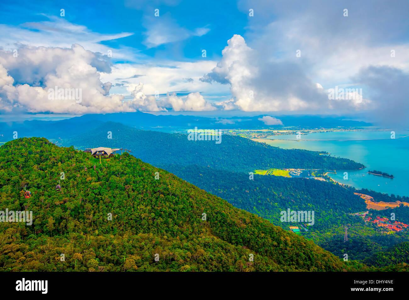 Langkawi-Sicht Stockbild