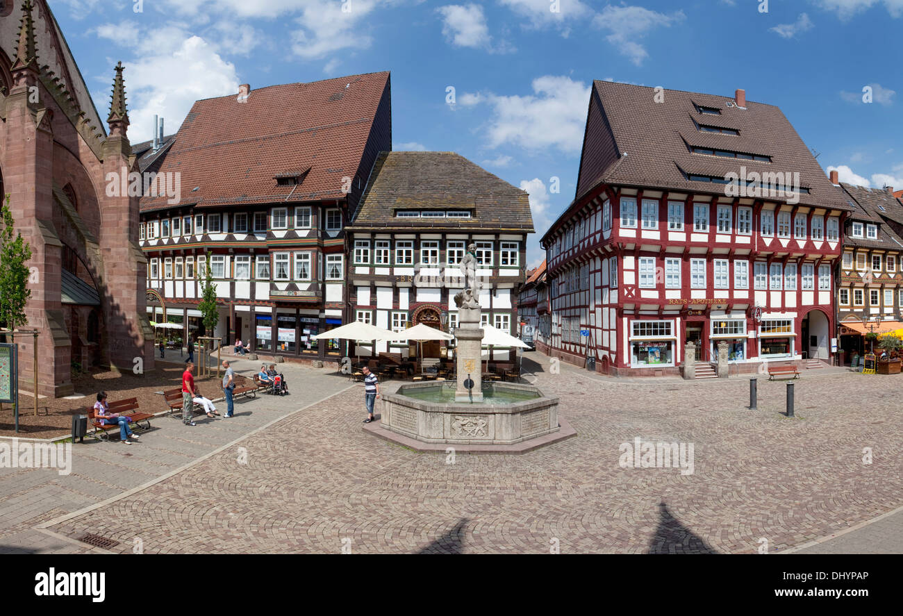 Germany europe half timbered facade lower stockfotos for Fachwerk vechta