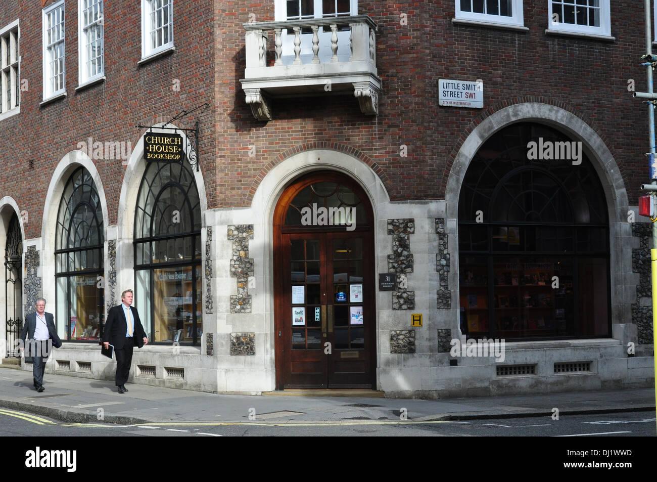 KIRCHE HOUSEBOOK SHOP GT SMITH STREET LONDON UK Stockbild