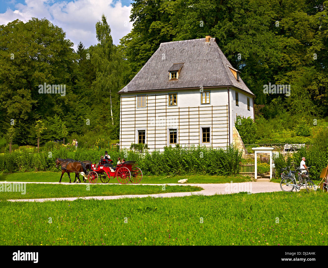 goethe gartenhaus in ilm park weimar th ringen stockfoto bild 62747151 alamy. Black Bedroom Furniture Sets. Home Design Ideas