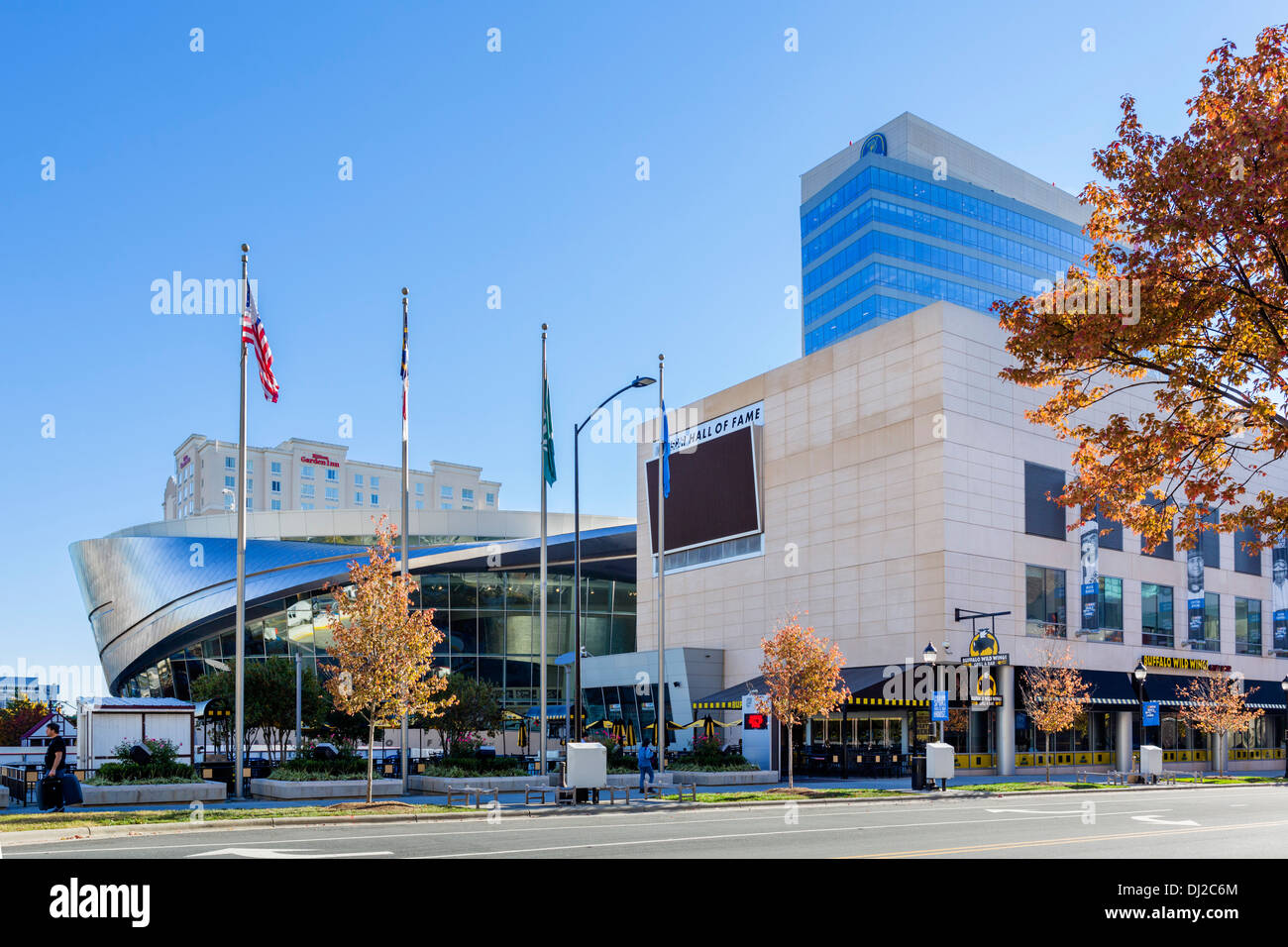 NASCAR Hall Of Fame, Charlotte, North Carolina, USA Stockbild
