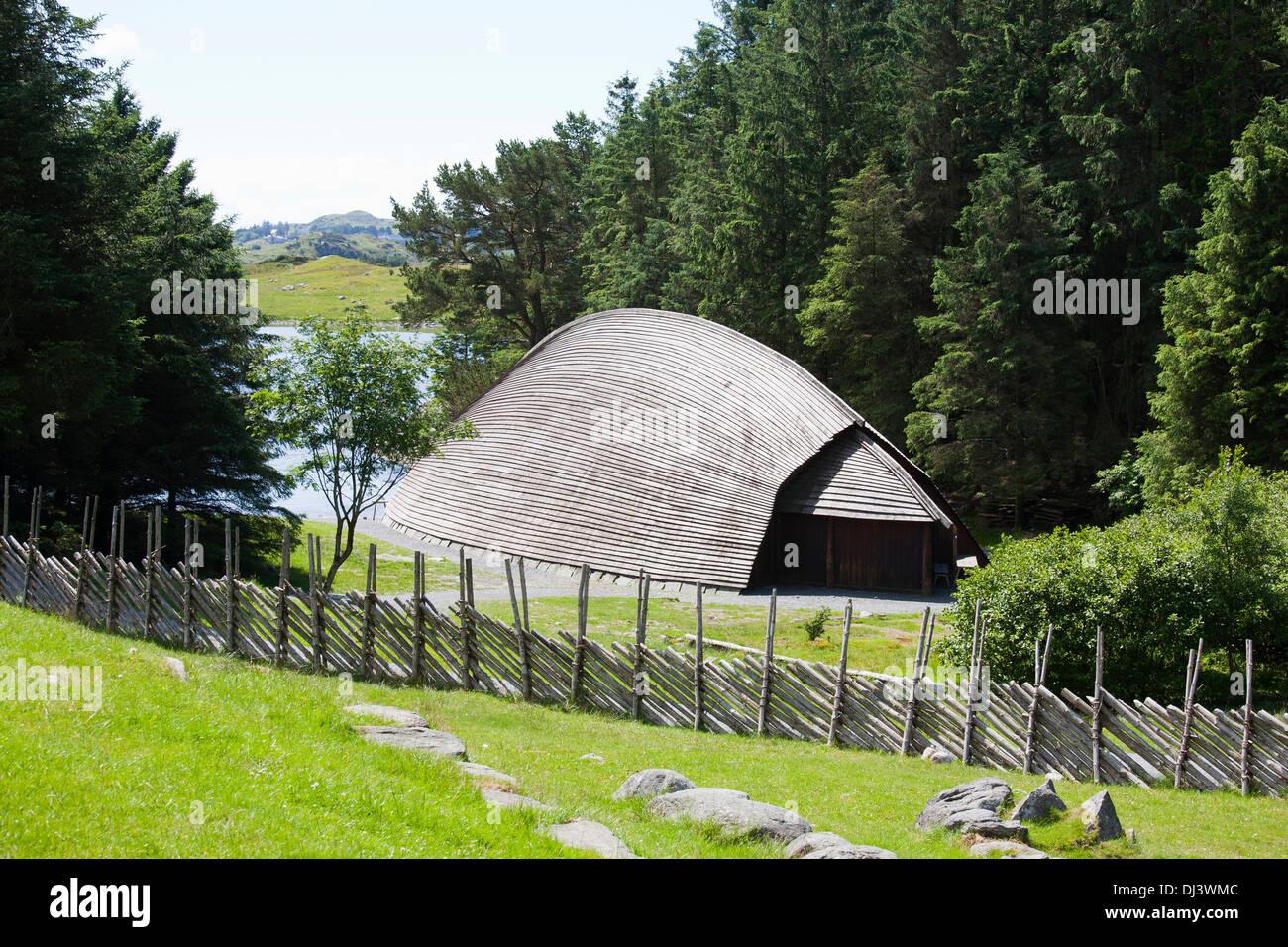 europa norwegen avaldsnes wikingerdorf traditionelles haus stockfoto bild 62780940 alamy. Black Bedroom Furniture Sets. Home Design Ideas
