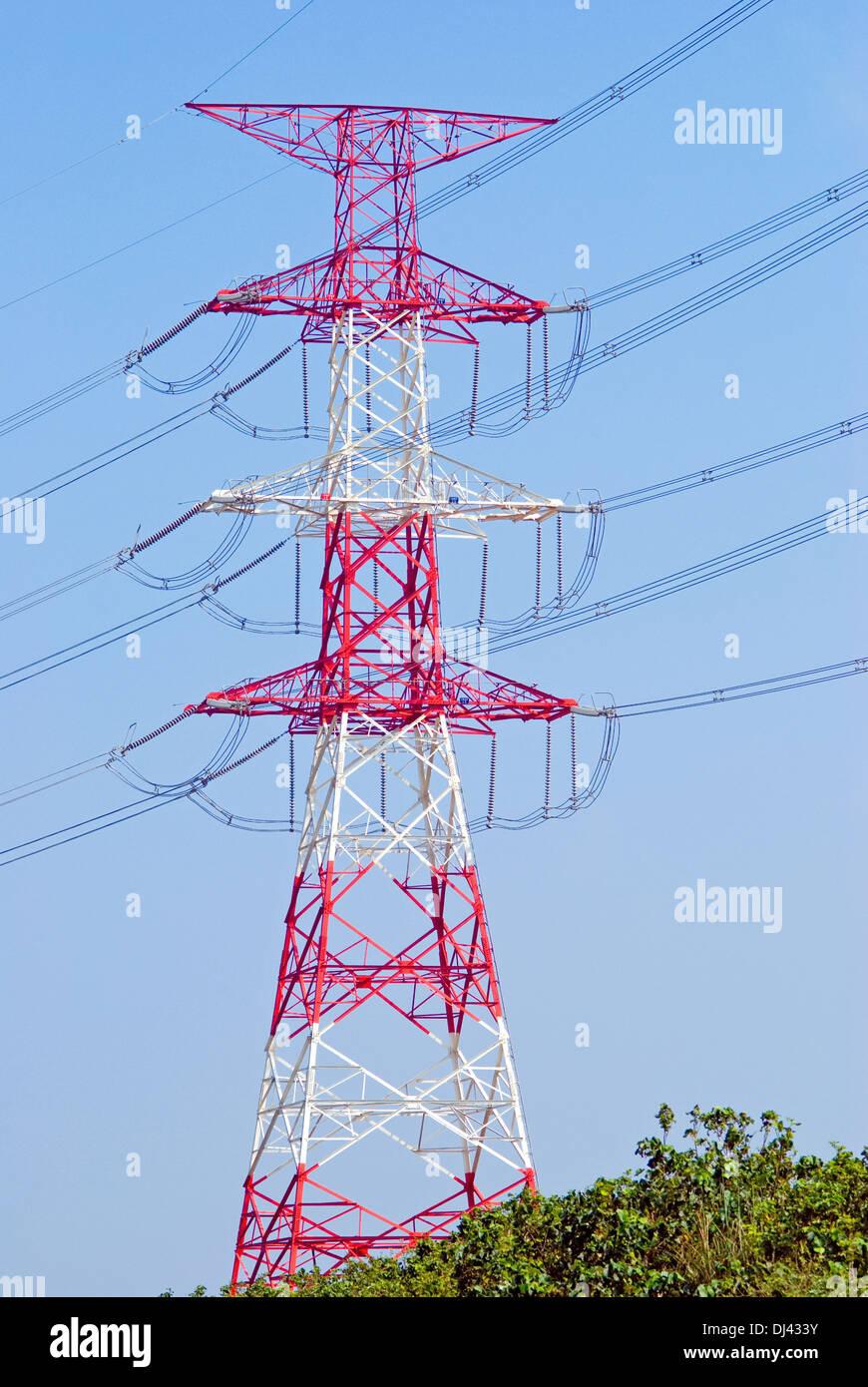 Elektrische Leistung Stockbild