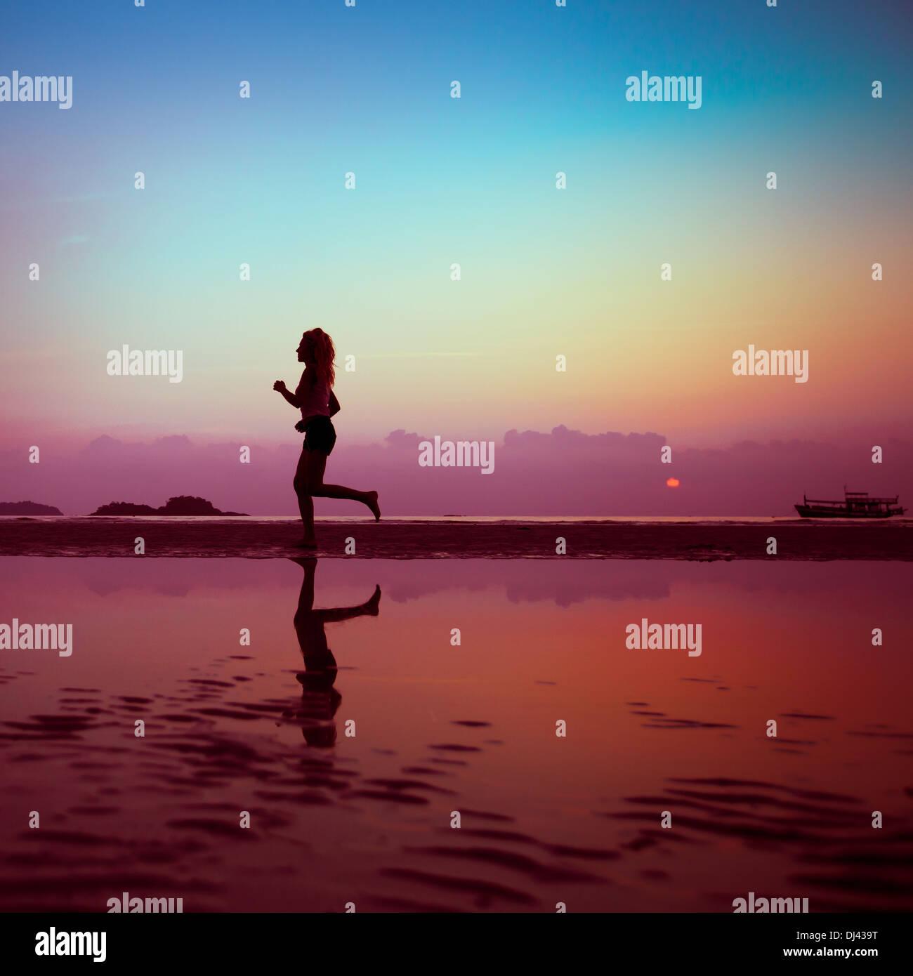Fitness-Hintergrund Stockbild