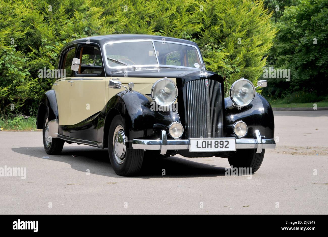 1953 Austin Sheerline klassische britische Luxus-Auto Stockbild
