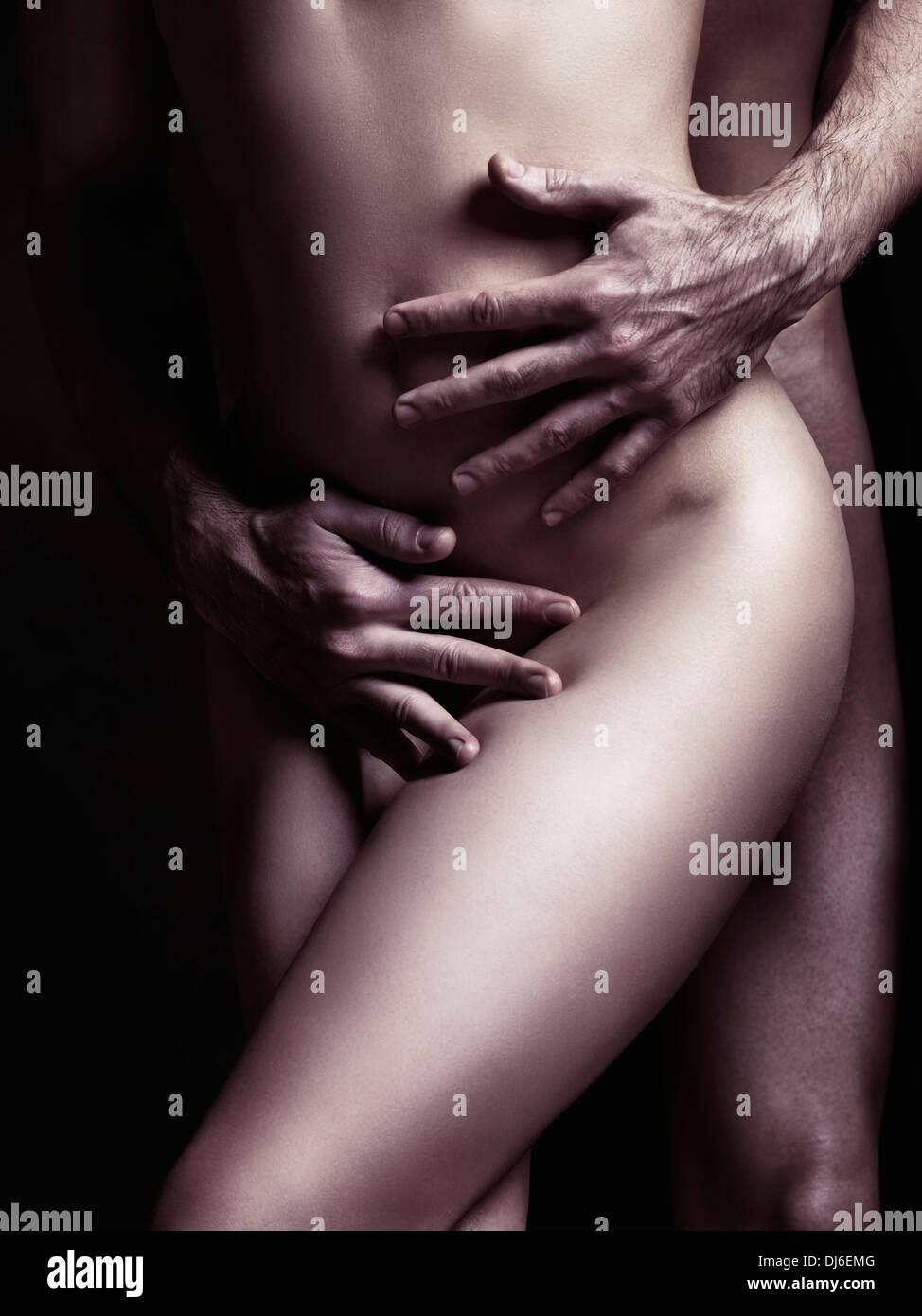 Umarmung Nackt