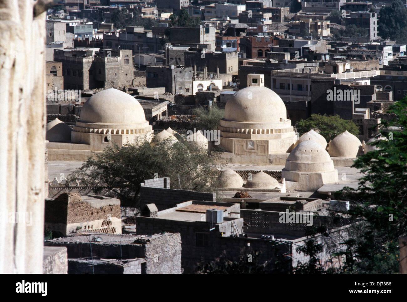 Taiz Jemen erste Moschee des Islam Stockbild