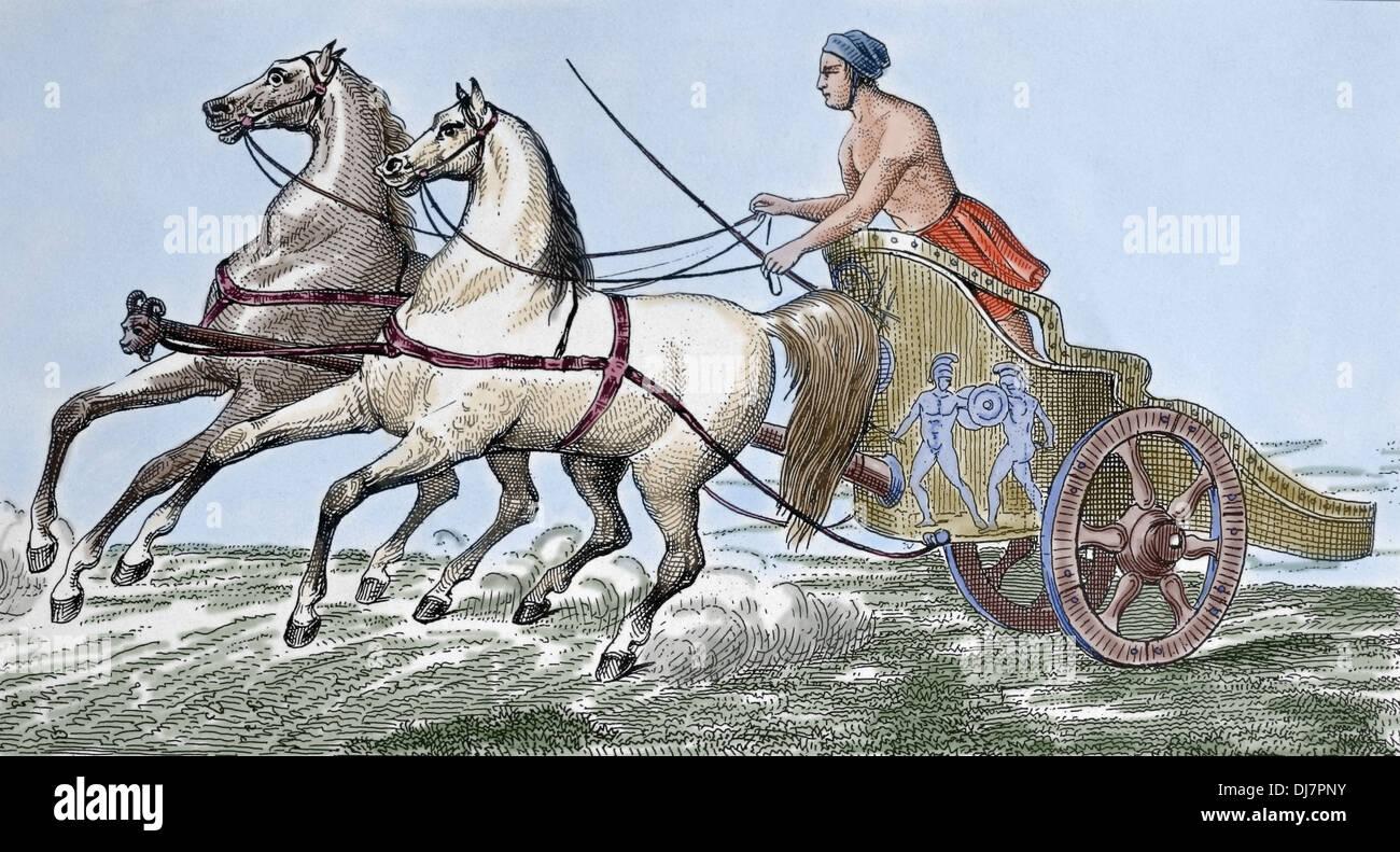 Pferderennbahn In Der Antike