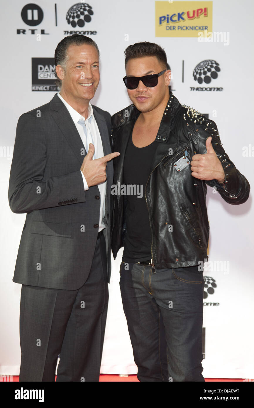 Kay One Attending Dome 61 Red Carpet Where Stockfotos & Kay