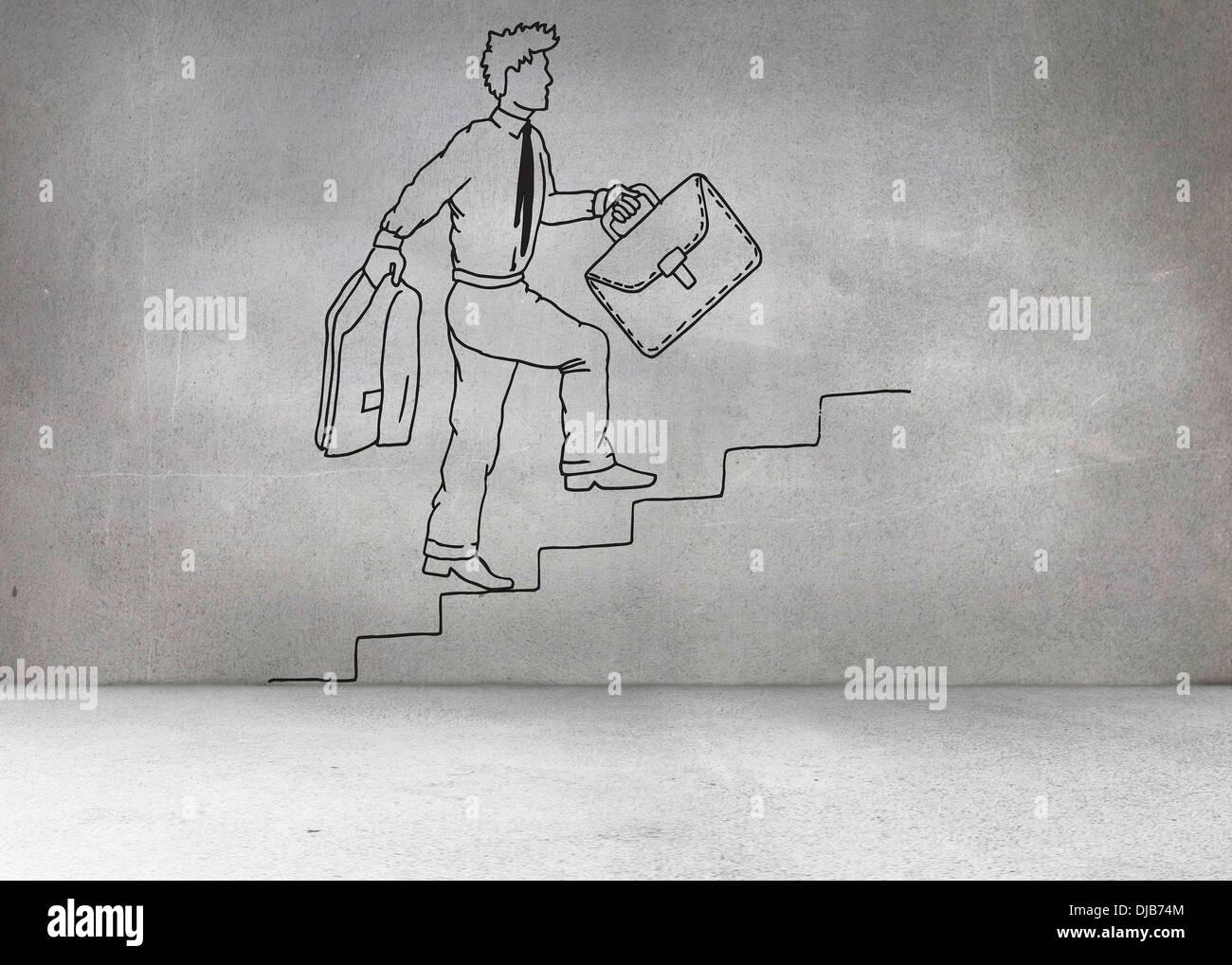 Mit krücken treppensteigen Treppen laufen