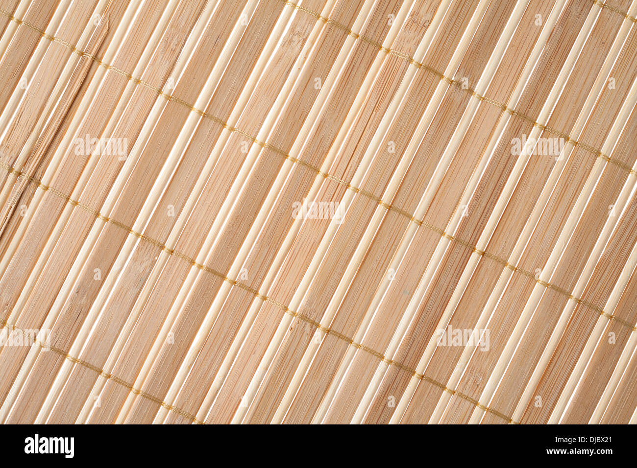 Nahaufnahme Von Bambus Matten Hintergrund Isoliert Auf Weiss
