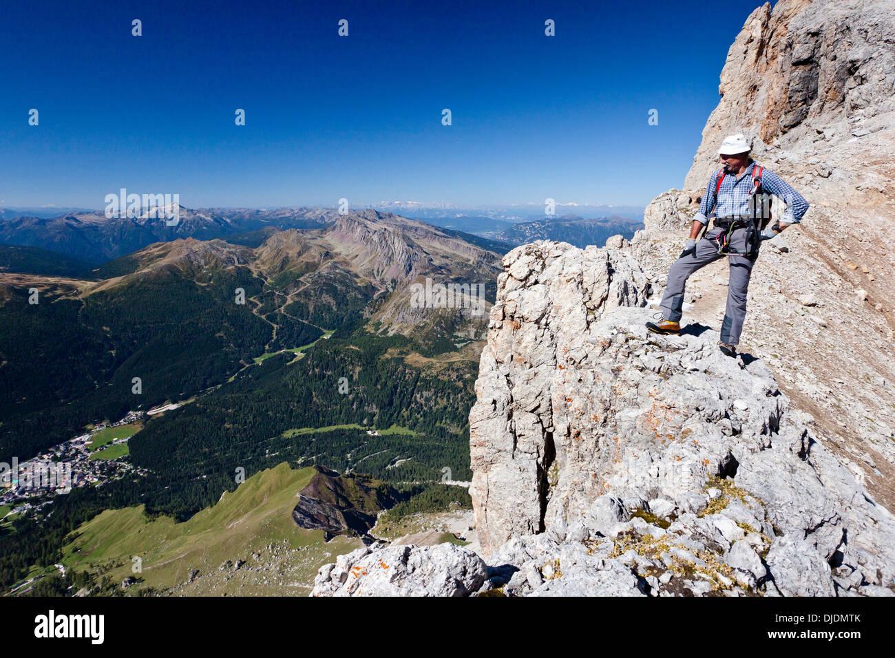 Klettersteig Via Ferrata : Paternkofel klettersteig via ferrata de luca innerkofler