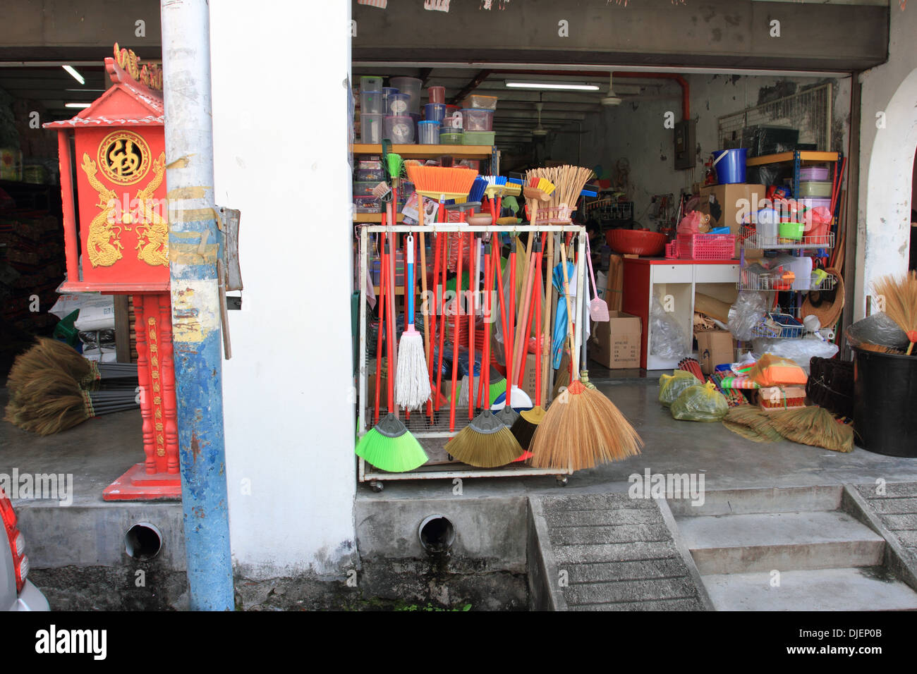 Chinese altar stockfotos chinese altar bilder alamy for Traditionelles chinesisches haus hanoi