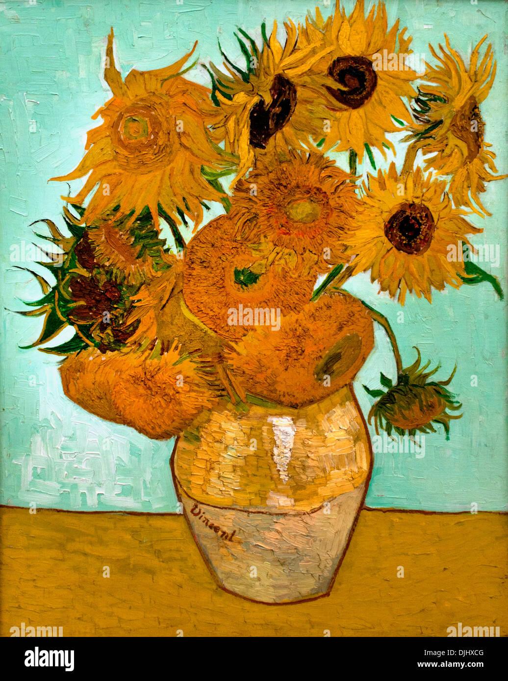 Sonnenblumen Van Gogh Stockfotos Sonnenblumen Van Gogh Bilder Alamy