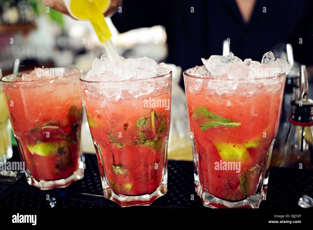 Cocktails Stockfoto