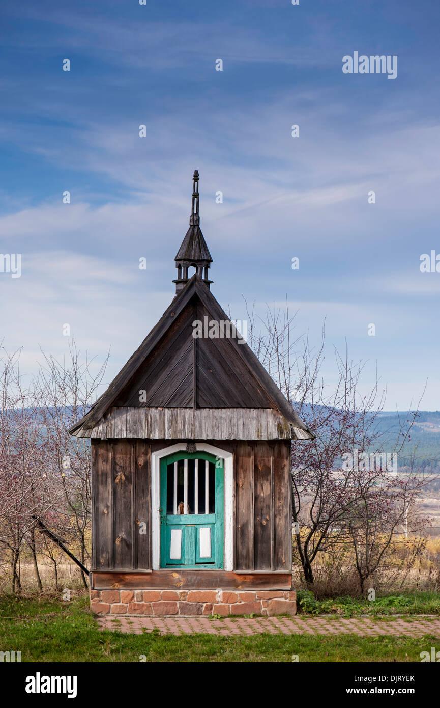 Bildstock, Woiwodschaft ?wi?tokrzyskie Region, Polen Stockbild