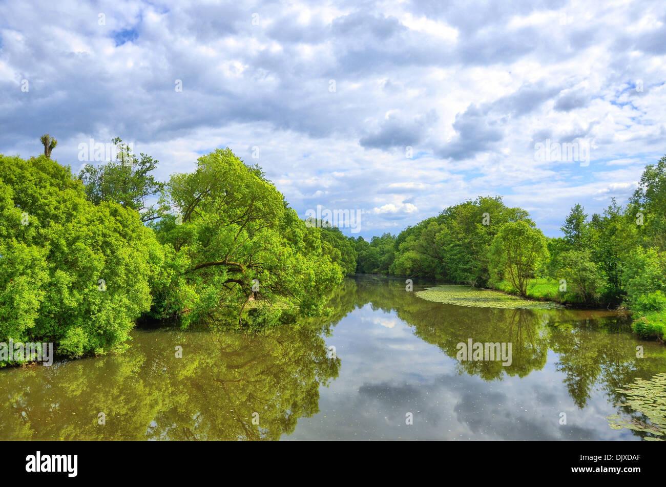 Fluss In Hessen