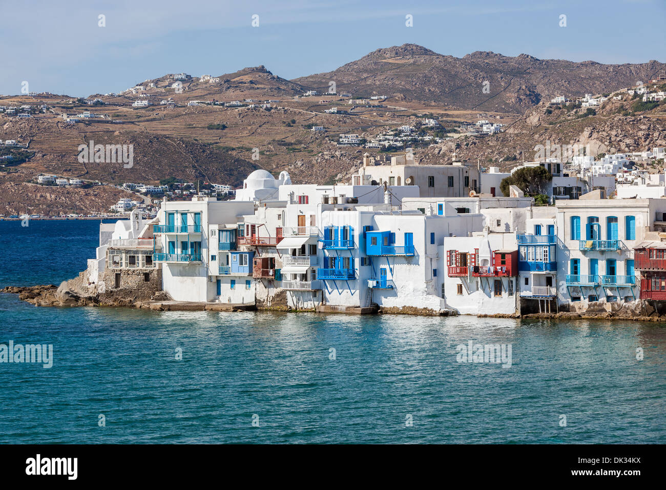 wei e h user in mykonos griechenland stockfoto bild 63379118 alamy. Black Bedroom Furniture Sets. Home Design Ideas