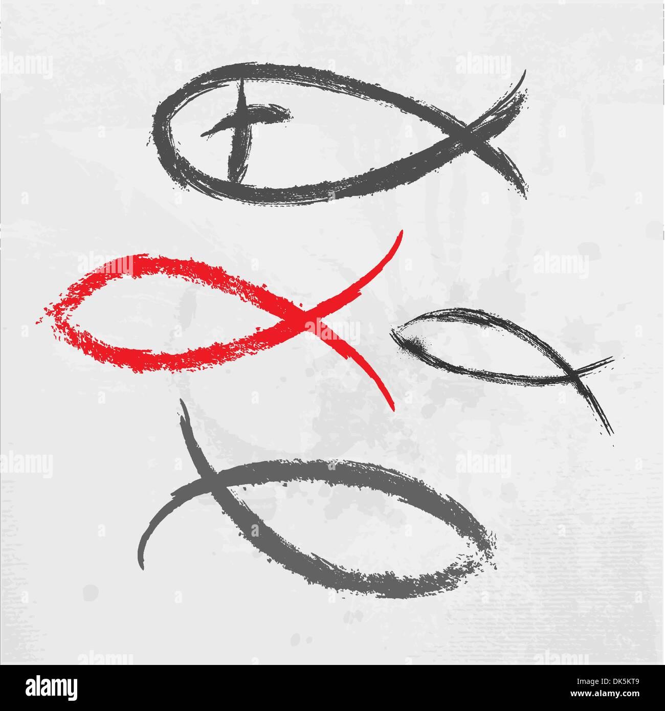 Ichthus Symbol Stockfotos & Ichthus Symbol Bilder - Alamy