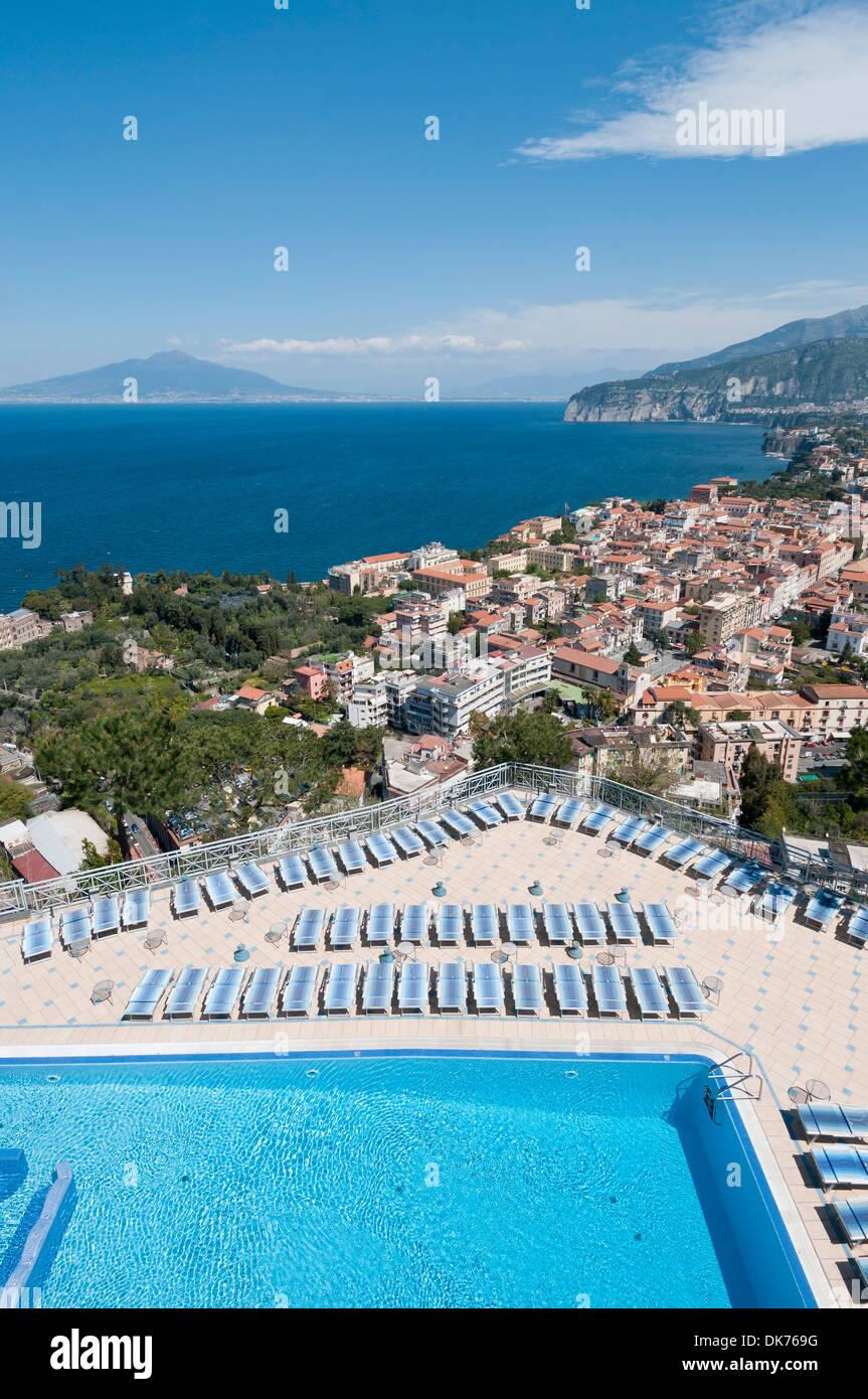 Sorrento Italien Blick Vom Grand Hotel Presidente In Sorrento