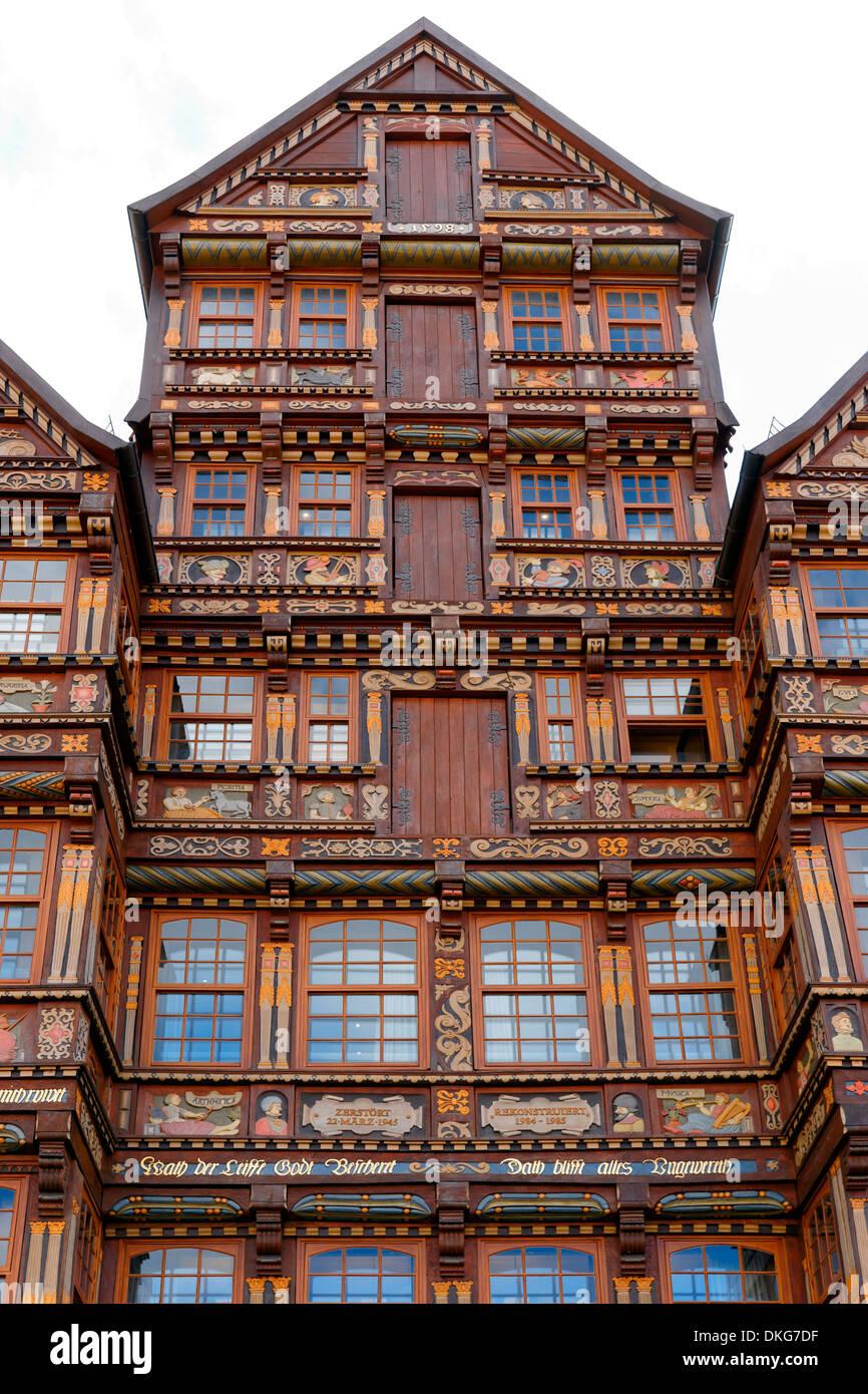 Wedekindhaus, Hildesheim, Niedersachsen, Deutschland, Europa Stockbild