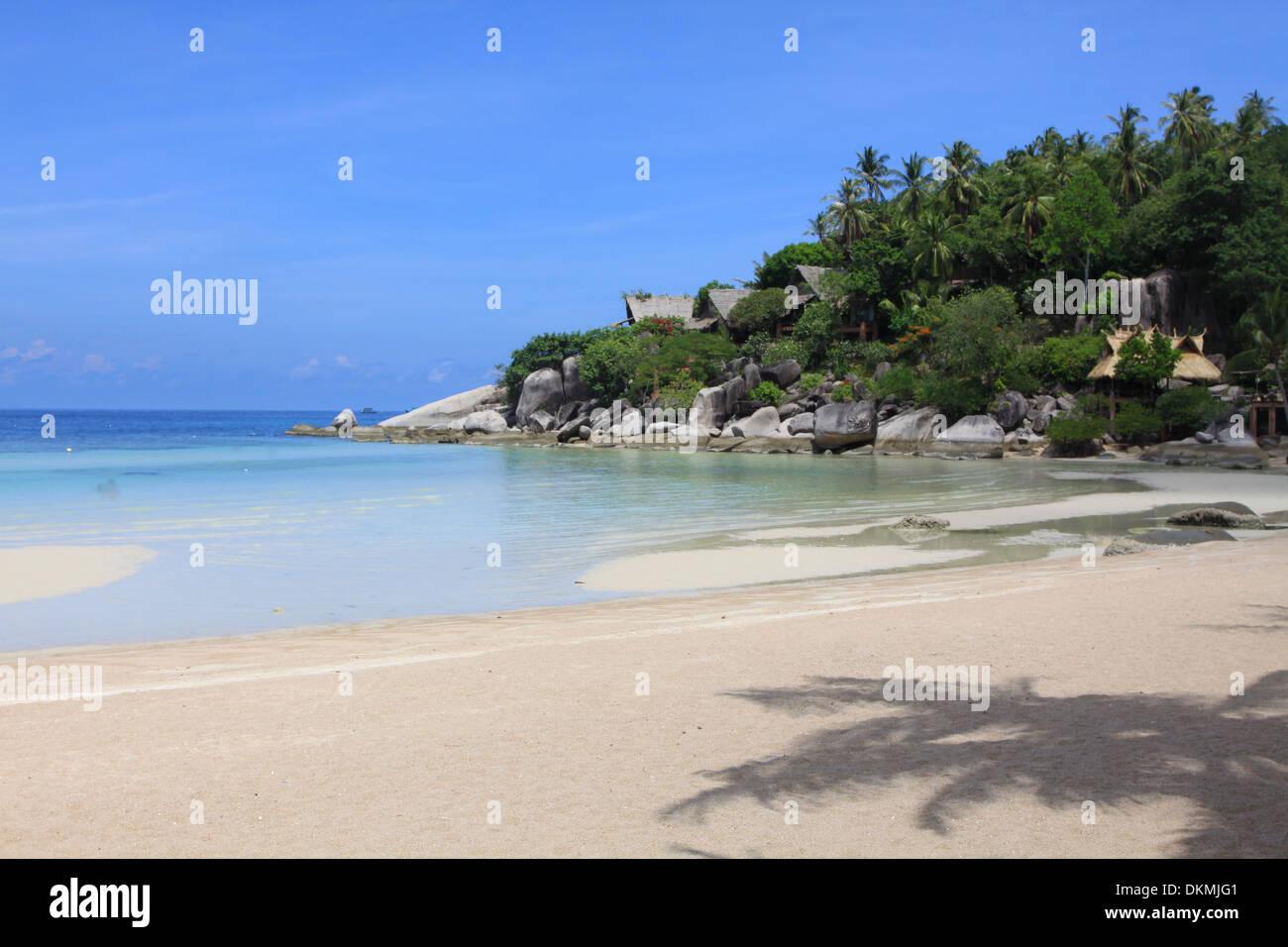 Koh Tao Sairee Strand Thailand Beach Bar Stockfoto Bild 63763169
