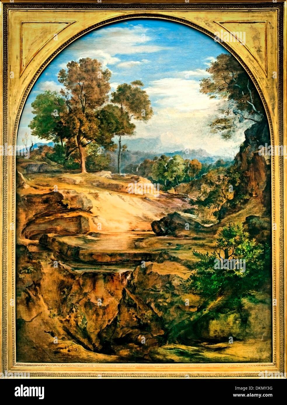 Wildnis 1831 FERDINAND OLIVIER (1785-1841) Deutsch Deutschland Stockbild