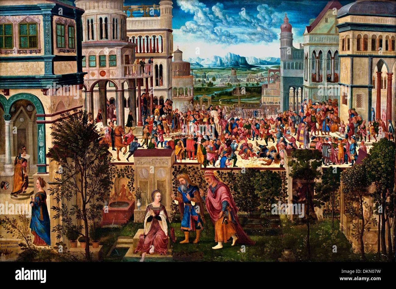 Geschichte der Susanna - Tory von Susanna von Hans Schopfer Elder 1505 - 1569 Deutsch Deutschland Stockbild