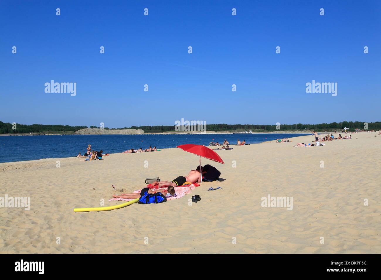 Haltern am See, Strand Silbersee 2, Münsterland, Nordrhein