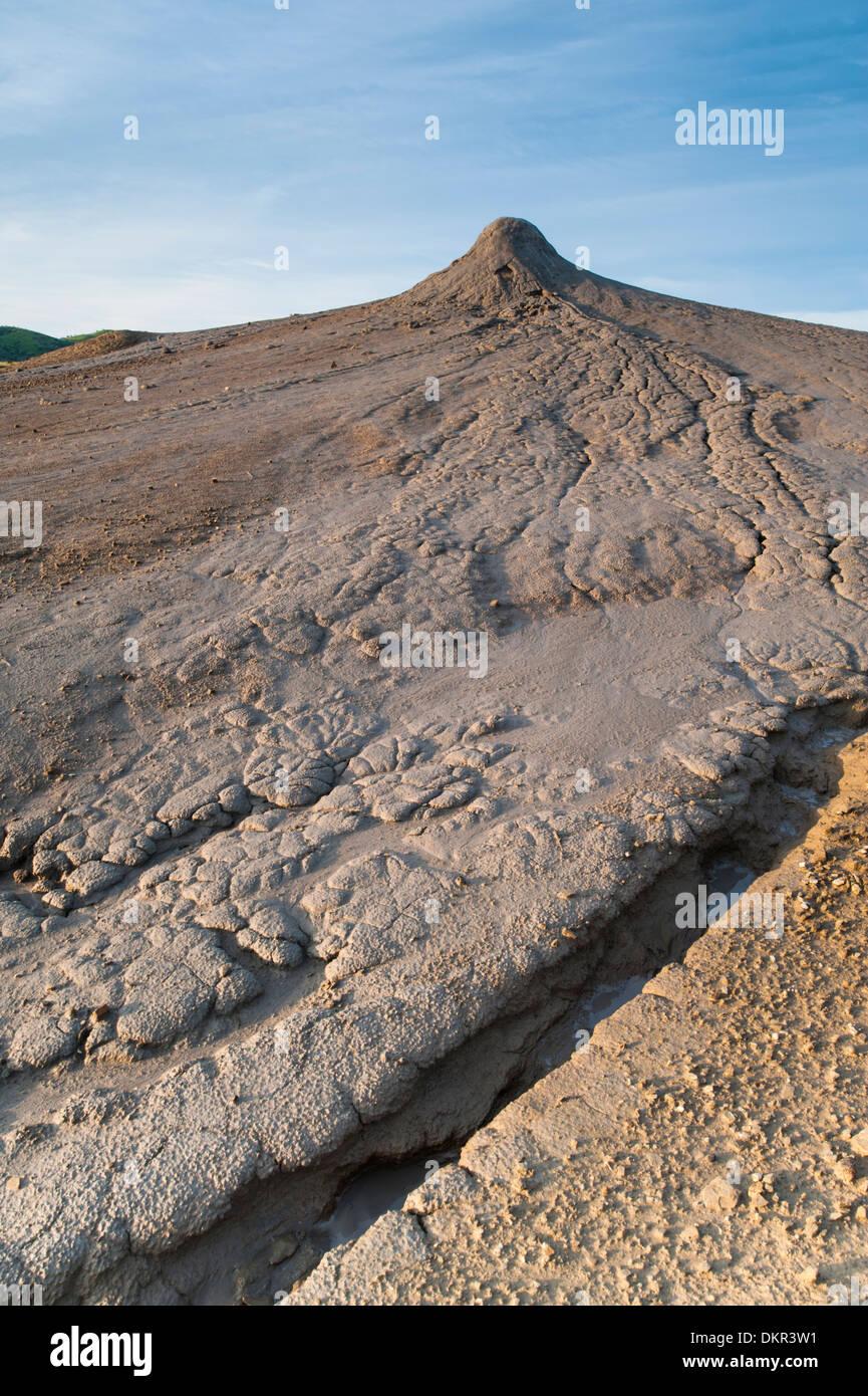 Europa-Rumänien-Berca geologische, botanische Schutzgebiet Naturschutzgebiet europäischen rumänischen Schlamm Vulkan Schlamm Topf morphologische Stockbild