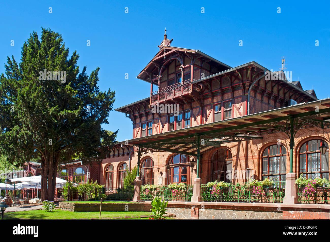 Architektur Magdeburg europa deutschland sachsen anhalt magdeburg herrenkrug park hotel
