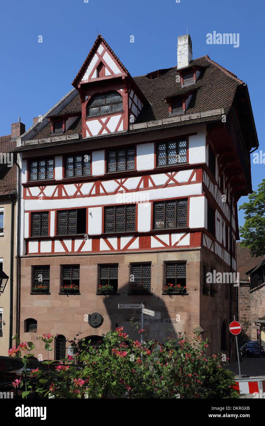 Nürnberg-Albrecht-Dürer-Haus Stockbild