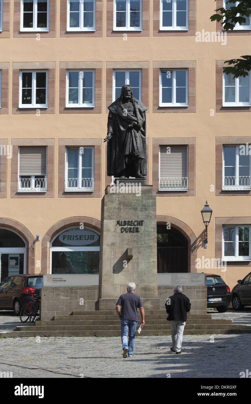 Nürnberg-Albrecht Dürer Stockbild