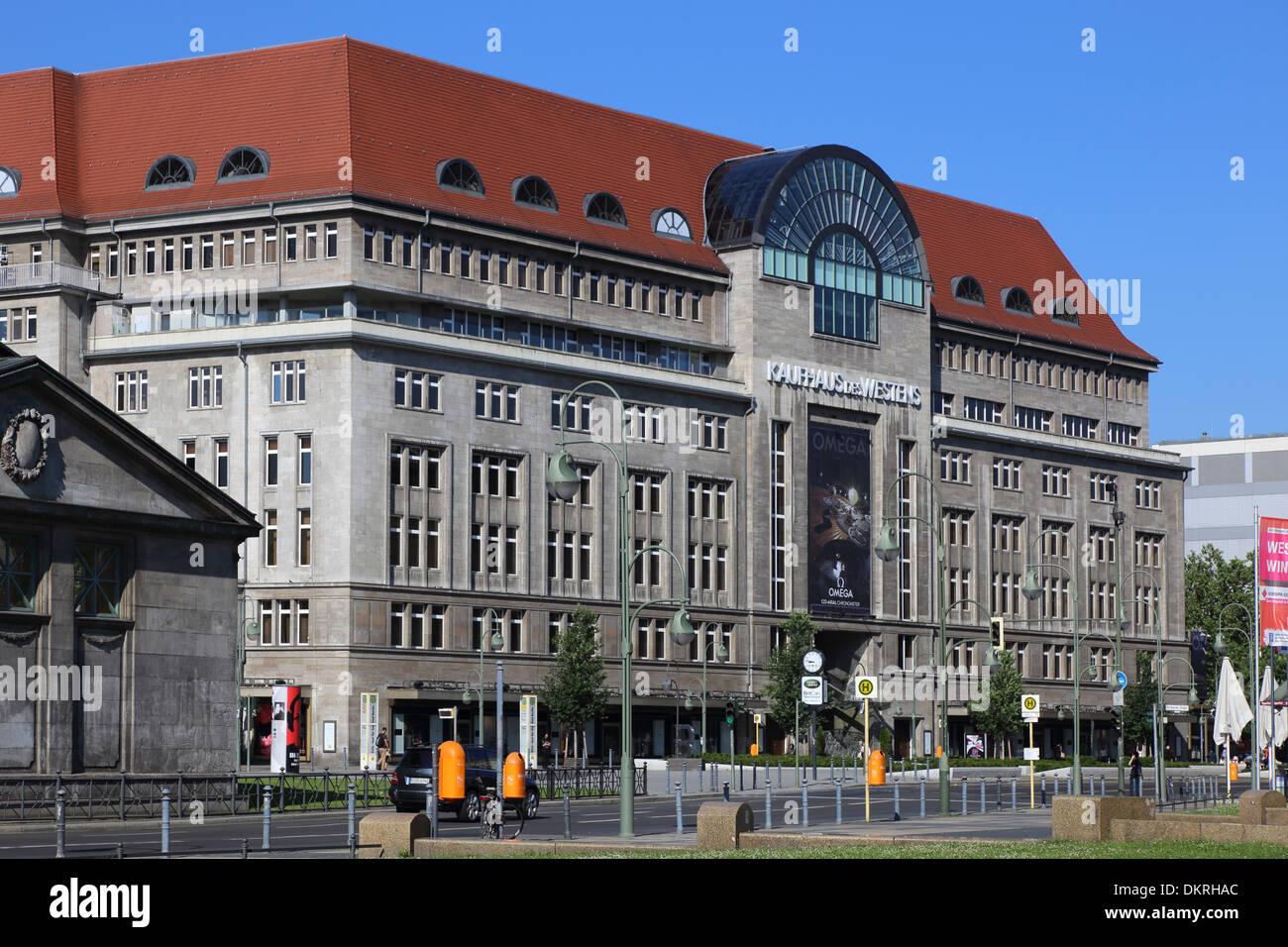 4e5cf685d894e3 Berliner KaDeWe Kaufhaus des Westens Stockfoto