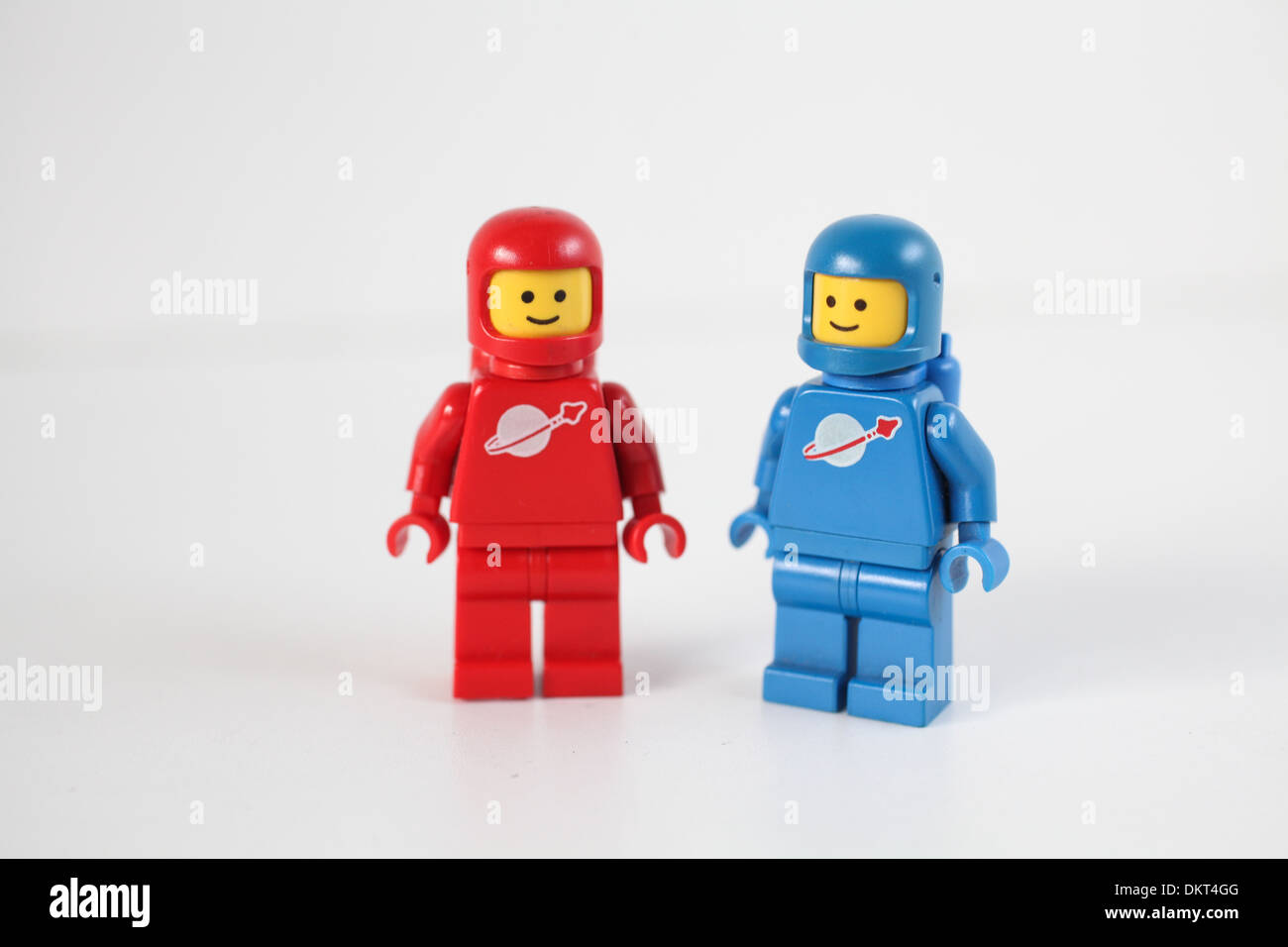 Lego Weltraum Figuren Stockfoto Bild 63840016 Alamy