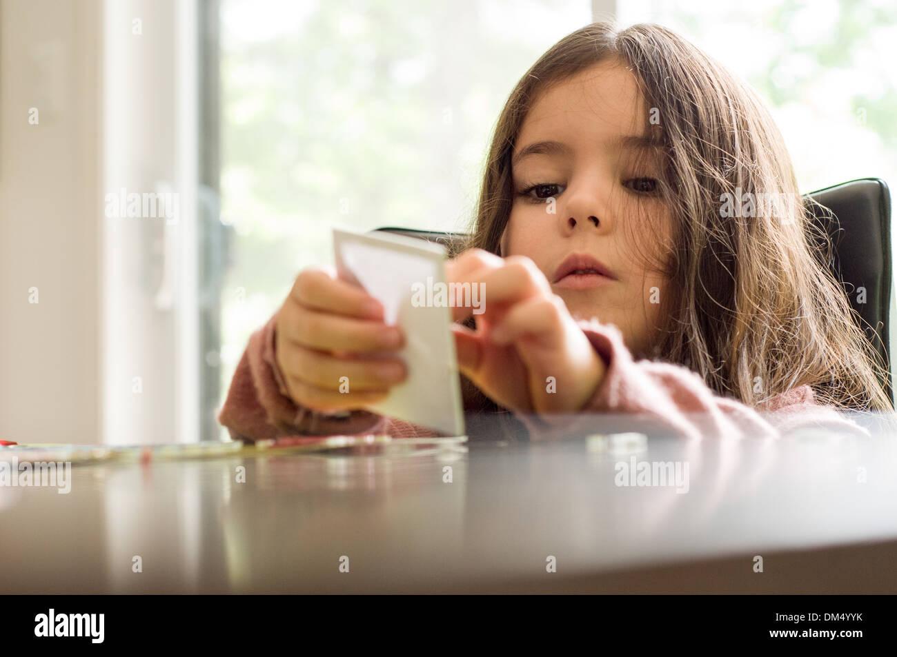 Kind spielen Stockbild