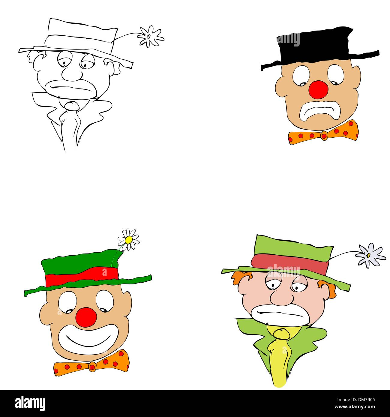 Pennywise Hintergrund: Happy Clown Vector Stockfotos & Happy Clown Vector Bilder