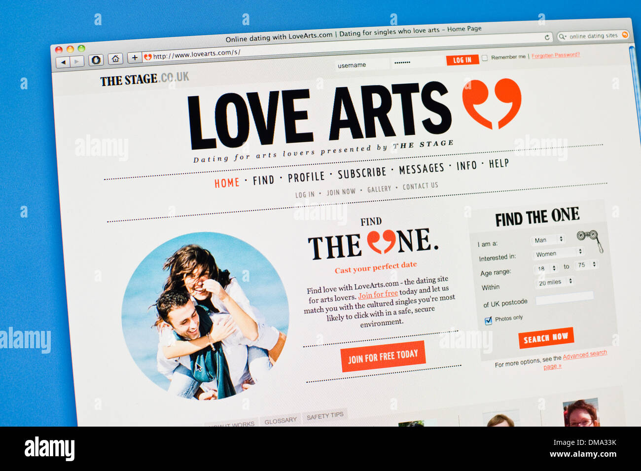 Englisch-Dating-Webseiten