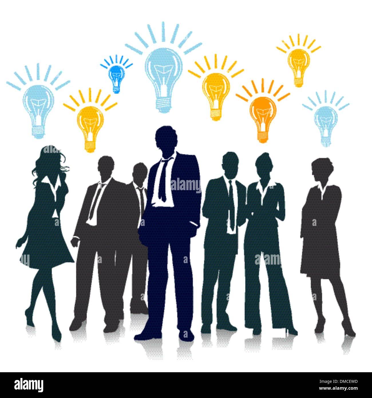 Ideen und Innovation Stockbild