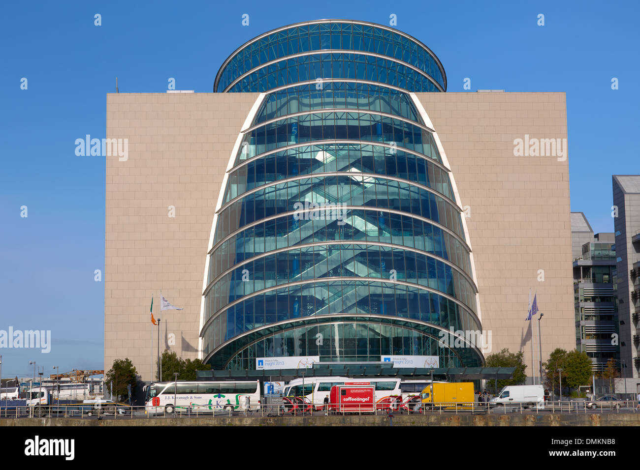 Convention Center North Wall Quay Dublin Irland Europa Stockfoto