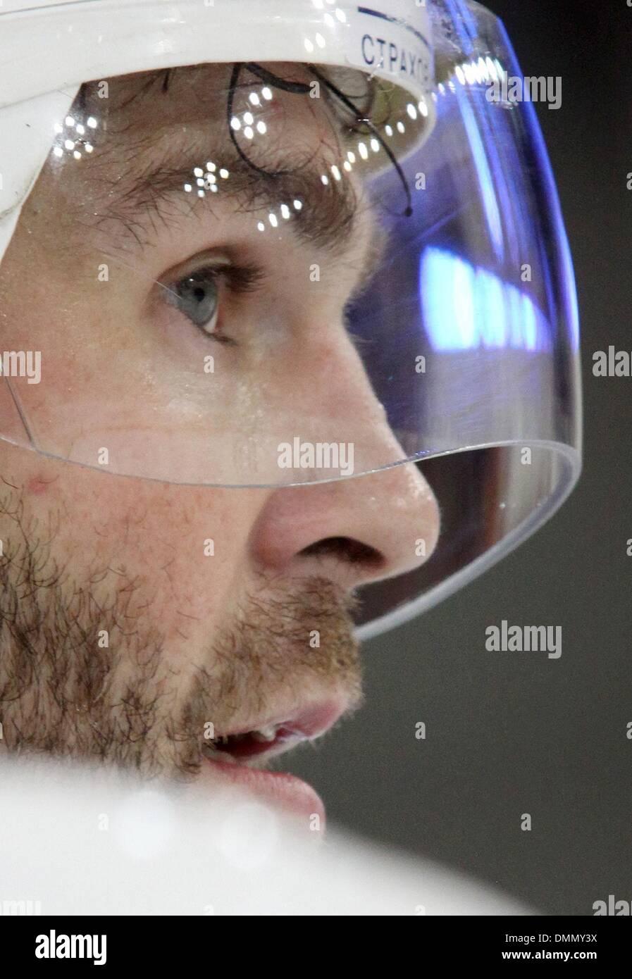 Sep 18, 2009 - Moskau, Russland - ehemalige New York Ranger star JAROMIR JAGR spielt jetzt für internationale professionelle Hockey-Liga KHL (Kontinental Hockey League) mit dem Club Avangard Omsk. (Kredit-Bild: © PhotoXpress/ZUMA Press) Stockbild
