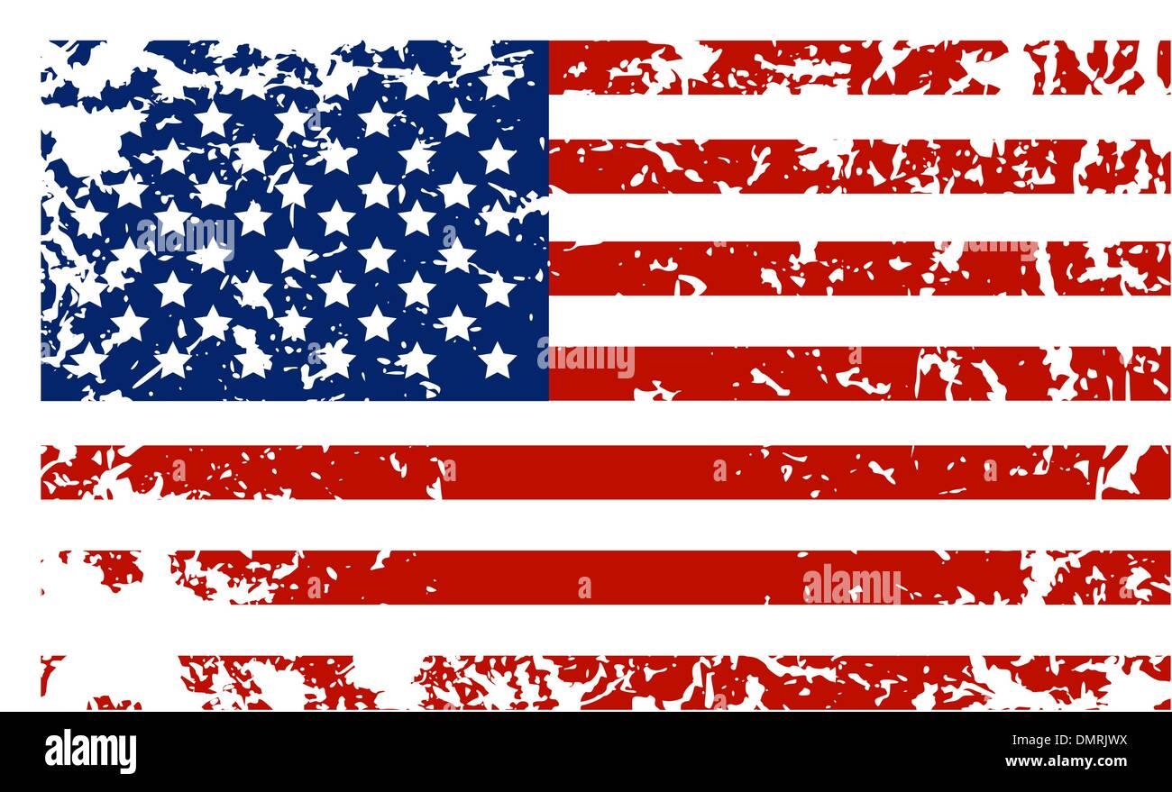 Grunge Messy Flag Usa America Stockfotos & Grunge Messy Flag Usa ...