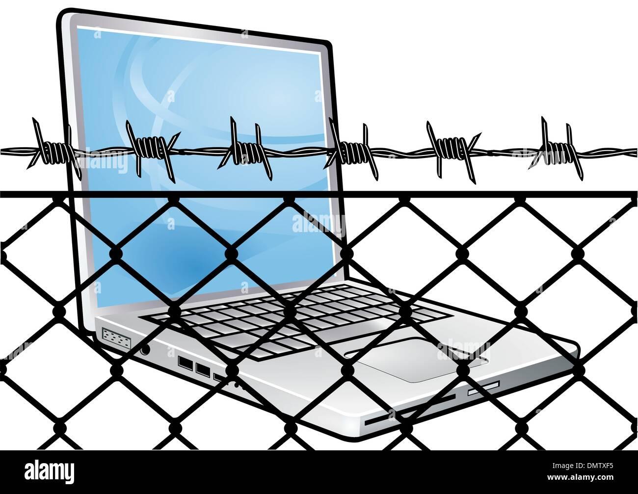 Datenschutz Stockbild