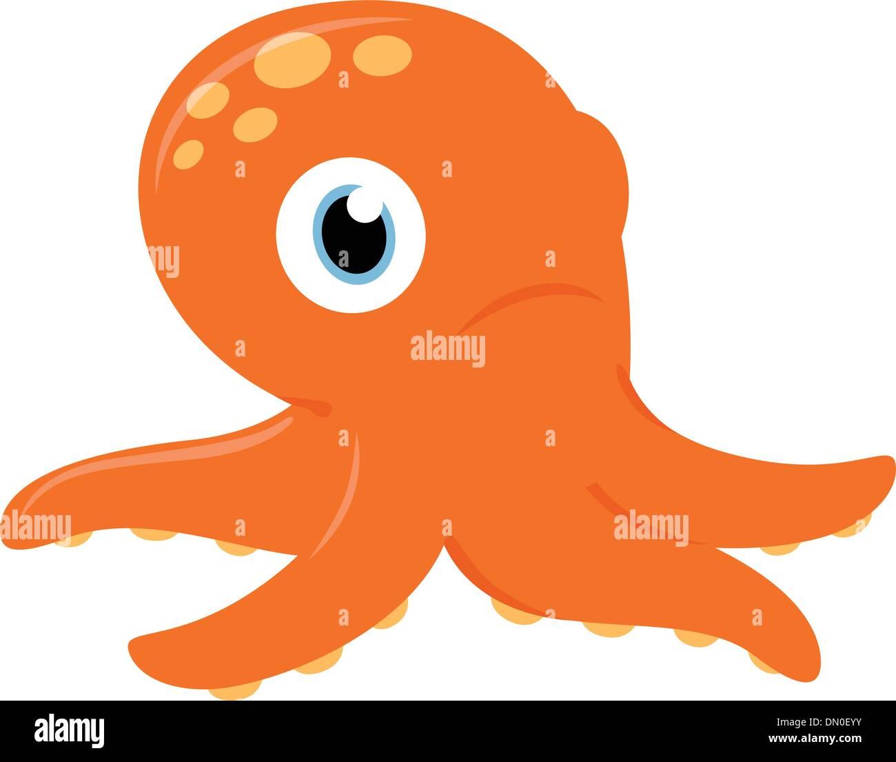 Charmant Süße Oktopus Färbung Seite Zeitgenössisch - Malvorlagen Von ...
