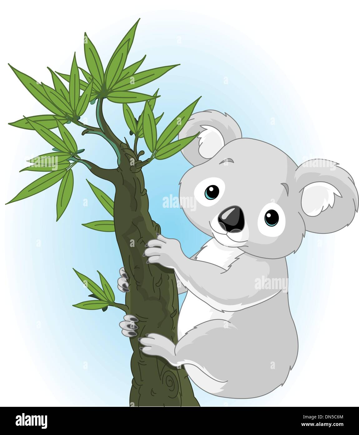 Koala Bear Clip Art Stockfotos & Koala Bear Clip Art Bilder - Alamy
