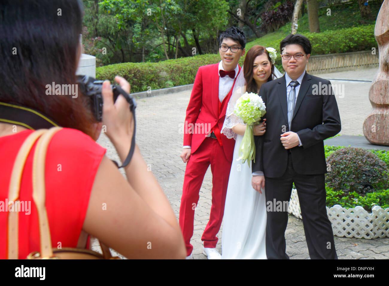 Hong Kong China Insel Central Hong Kong Park Hochzeit Fotograf Fotos ...