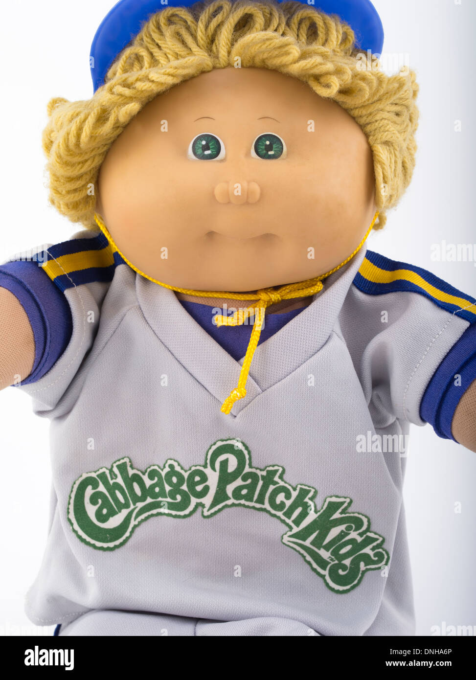 Cabbage Patch Kids Arlo Scotty erstellt von Xavier Roberts 1982 Coleco ikonischen Spielzeug der 80er Jahre, 80er Jahre Stockbild